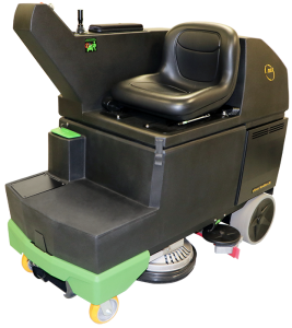 eForce Scrubber Ride On Floor Scrubber
