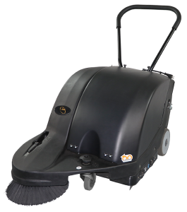 Sidewinder 27 battery powered walk behind sweeper